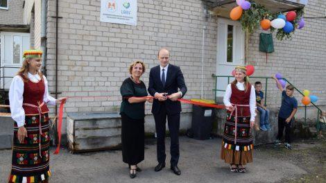 Paežerių kaimo bendruomenė turi oficialius namus!
