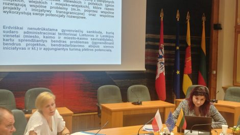 Kuriama turizmo funkcinė zona Lietuvos–Lenkijos pasienio savivaldybėse