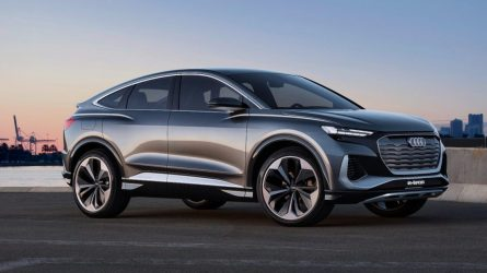 "Koncepcinis ""Audi Q4 Sportback e-tron"""