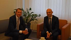 Energetikos ministras pakvietė Lenkiją dalyvauti Baltijos šalių elektros energijos ir dujų rinkose