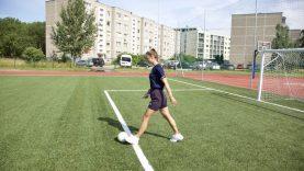 Renovuotas jau 4-tas stadionas sostinėje – naujausias atvertas Justiniškėse
