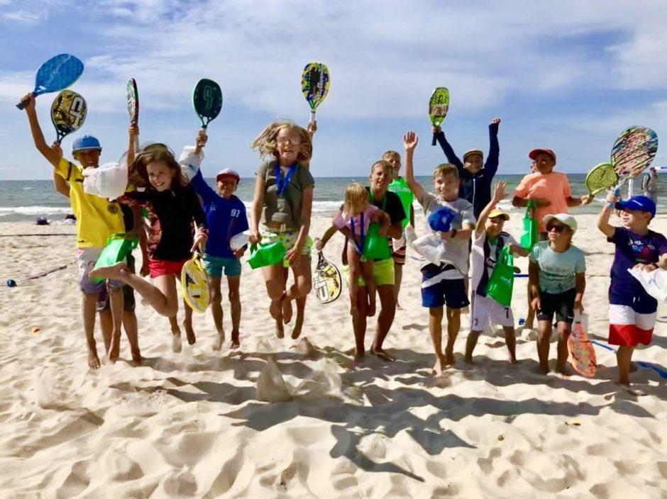 Sostinės širdyje bus auginamos būsimos paplūdimio teniso žvaigždės