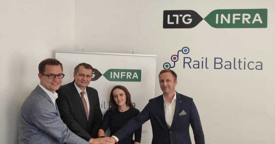 """Rengiamasi """"Rail Baltica"""" geležinkelių depų įrengimui"""