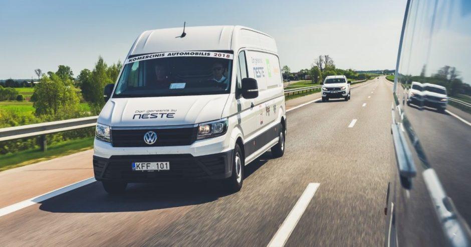 Lietuvoje startuoja komercinio automobilio rinkimai: ieškos optimaliausio sprendimo verslui