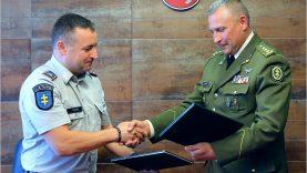 Stiprinamas policijos bendradarbiavimas su šauliais