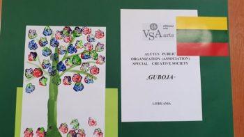 Neįgalių vaikų piešiniai bus eksponuojami Danijoje