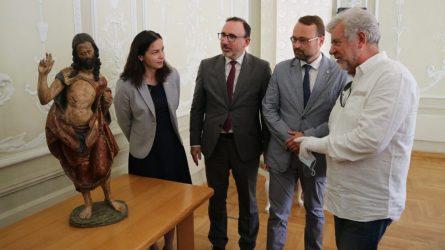 Unikalią į Lietuvą sugrąžintą kultūros vertybę saugos Lietuvos nacionalinis dailės muziejus