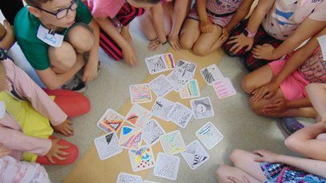 Mažieji šiauliečiai turiningai stovyklavo Vaikų literatūros skyriuje