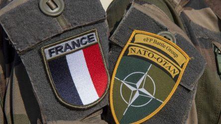 Prancūzijos kariai Lietuvoje minės Bastilijos paėmimo dieną