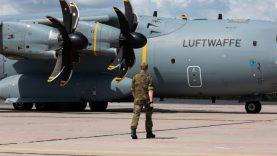 Patruliavimą Baltijos šalių oro erdvėje sustiprino Vokietijos karinės oro pajėgos
