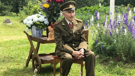 Paskutinis likęs gyvas Varėnos krašto Dainavos apygardos partizanas mini 95-ąjį gimtadienį
