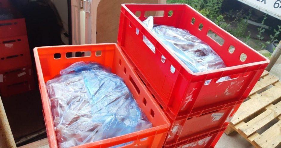 Kratos pas mėsos pardavėjus: antisanitarinės sąlygos, jokių leidimų ir apgaulinga buhalterija