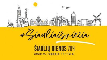 """Miesto šventė įvyks: """"Šiaulių dienų"""" organizatoriai kviečia švęsti saugiai ir atsakingai"""