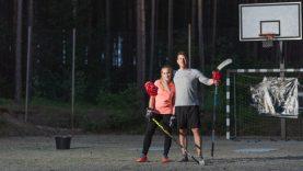 #HeForShe: Lietuvos rinktinės treneris ledo ritulį pamilusią dukrą ir palaikė, ir gynė