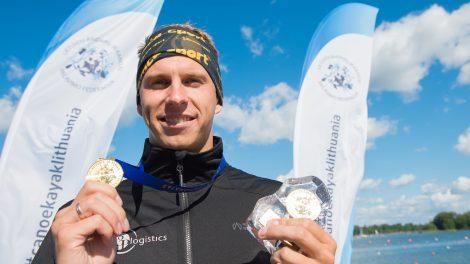 Lietuvos čempionate – H. Žustauto rekordas ir netikėtas I. Navakausko triumfas