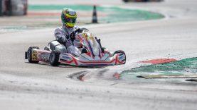 Europos kartingo čempionate dalyvaujantis vienintelis lietuvis – tarp lyderių
