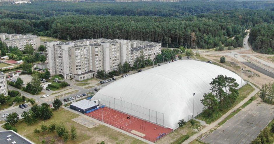 Atidaromas išskirtinis futbolo maniežas Pilaitėje