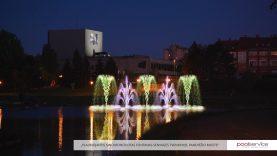 Panevėžį papuoš išskirtinis fontanas su vaizdo projekcijomis