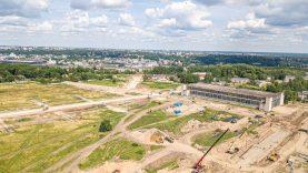 Ryškėja lietuviškojo Silicio slėnio kontūrai: Aleksoto inovacijų pramonės parke – pats darbų įkarštis