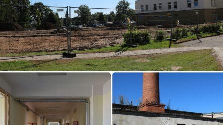 Ligoninė atsinaujina – nuo birželio mėnesio pradėti vykdyti trys svarbūs statybų ir remontų projektai