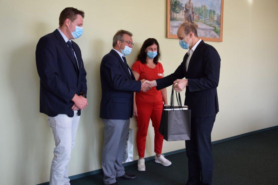 Tradicija tapęs susitikimas – Vilkaviškio kraštą lanko savanoriai iš Vokietijos