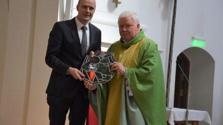 "Prelatas Vytautas Gustaitis: ""Ačiū, kad buvome visi kartu"""