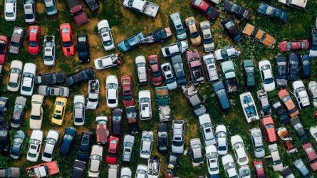 2020 m. liepą Lietuvos naudotų lengvųjų automobilių rinka smuko 31%