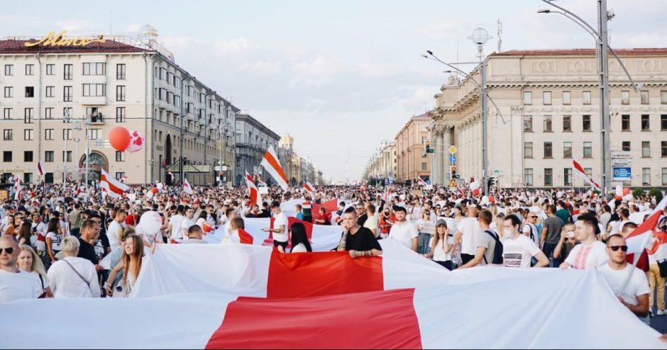 Parengtos rekomendacijos savaitgalį vyksiantiems į palaikymo Baltarusijai renginius