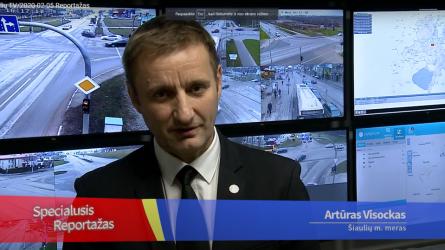 Eismo valdymas Šiaulių mieste: per paskutinius penkerius metus – žymus technologinis šuolis