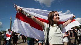 Pademonstruokime vienybę su baltarusių tauta