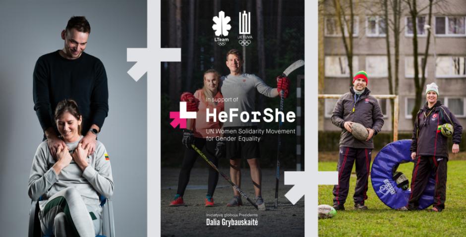 """""""HeForShe"""": projektas už lygybę sporte Lietuvoje įgauna pagreitį"""