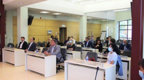 Pristatytos naujų investicijų Šiaulių oro uoste galimybės