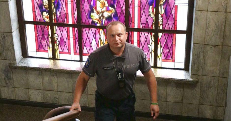 """Naujasis Kaišiadorių rajono policijos viršininkas: """"Visų pirma reikia išlikti žmogumi, o tik tada būti pareigūnu"""""""