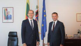Ekonomikos ir inovacijų viceministras Marius Skuodis lankėsi Šiauliuose