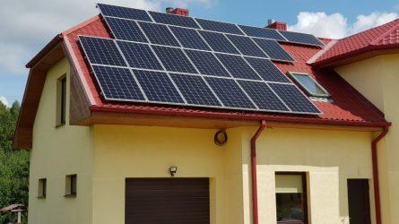 Žalia energija namuose: iki 80% mažesnės elektros sąskaitos