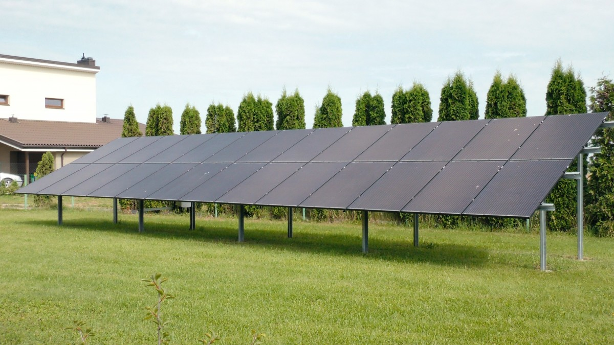 8,36 kW saulės elektrinė Aukštelkėje