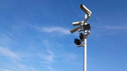 Vaizdo stebėjimo kameros – ne tik mieste, tačiau ir privačiuose kiemuose