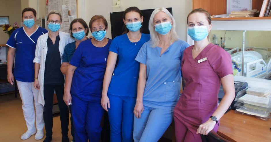 Ligoninės slaugytojos – inovatyvaus insulto gydymo protokolo pradininkės