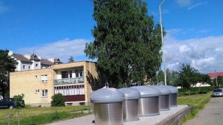 Varėnos rajone – nauji atliekų konteineriai, aikštelėse dirba prižiūrėtojas