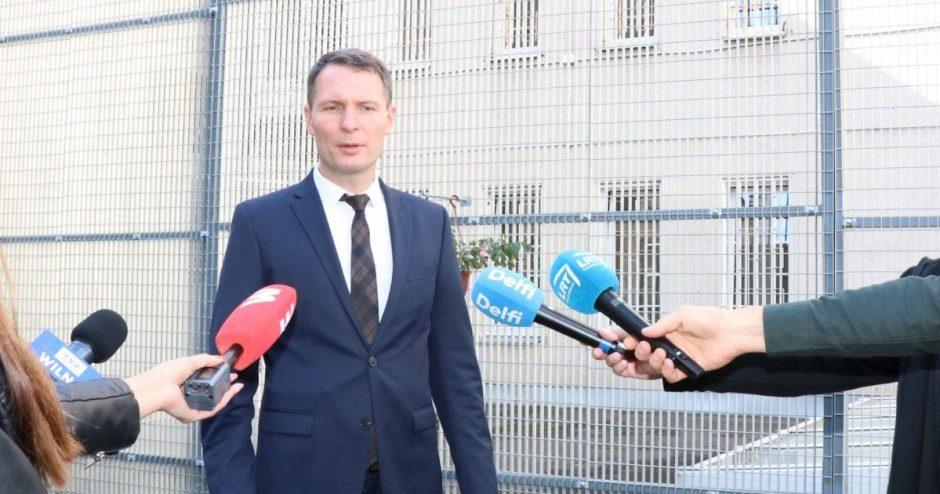 Teisingumo ministras E. Jankevičius: – pataisos įstaigose naikinamas praeities paveldas