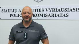 Šiaulių ir Telšių apskričių policijos komisariatai pusmečiui sujungiami į vieną apygardą