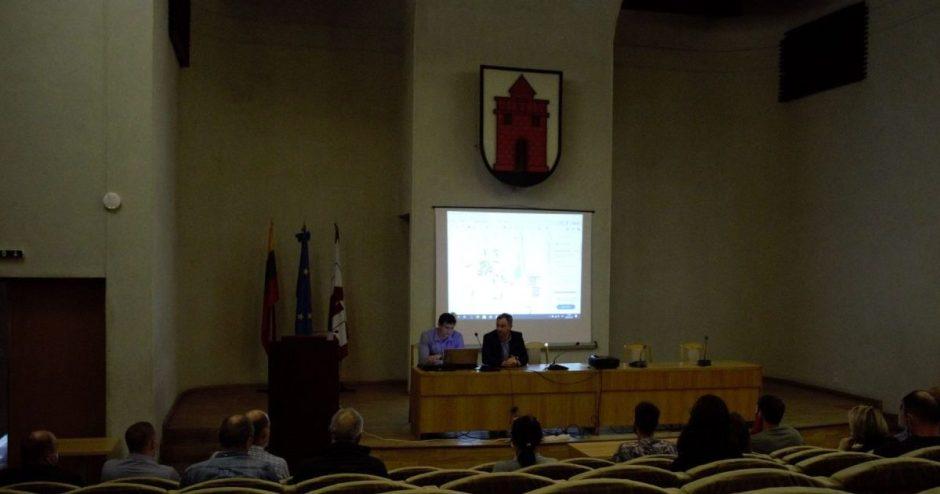 Savivaldybėje vyko susitikimas su centrinės miesto dalies bendruomene
