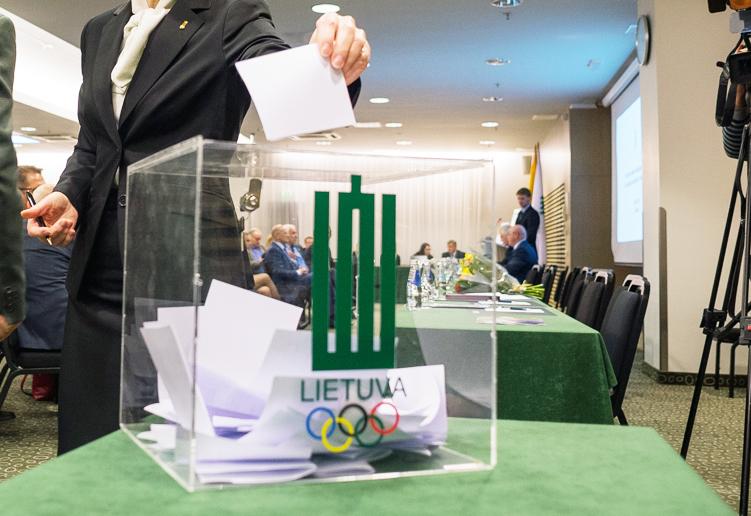 Į LTOK prezidento postą – du kandidatai