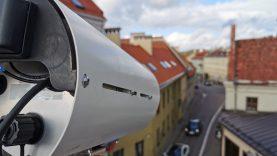 Išmaniosios kameros Senamiestyje palengvins eismo pokyčių analizę ir kontrolę