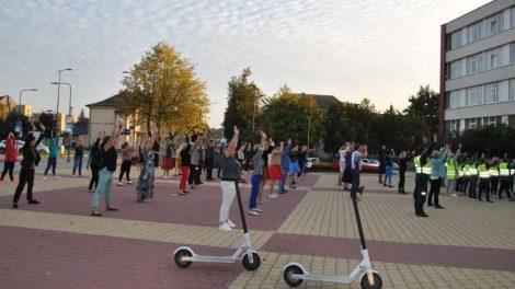 Europos judumo savaitė Joniškyje: automobilius iškeitė į skėčius
