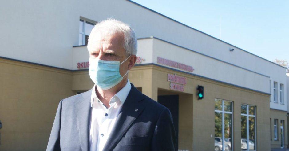 Ligoninėje – coronavirusu infekuoti pacientai ir medikai