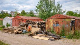 Vilniečiai jau nukėlė penktadalį – beveik 2000 – metalinių garažų