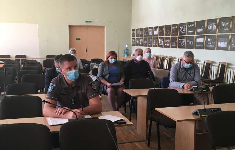 Organizuotas savivaldybės Ekstremalių situacijų komisijos posėdis