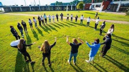 """Projekte """"Svajonių komandos"""" auga lyderiai ir empatiški piliečiai"""