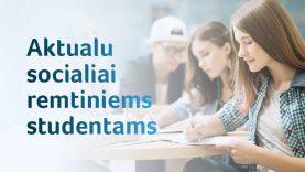 Iš ministerijos – paaiškinimas savivaldybėms: negalima siųsti studentų į Užimtumo tarnybą išmokų